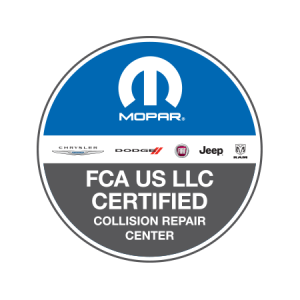 FCA US LLC Certified Collision Repair Center