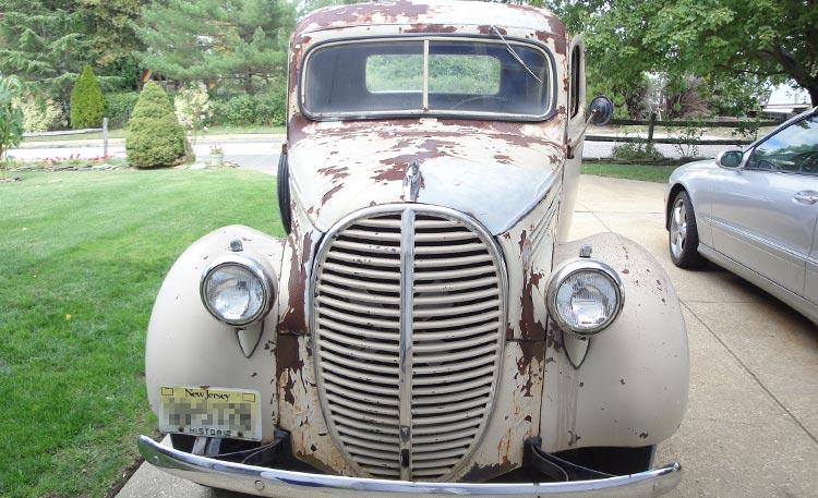 1939 Ford Pickup Restoration 4