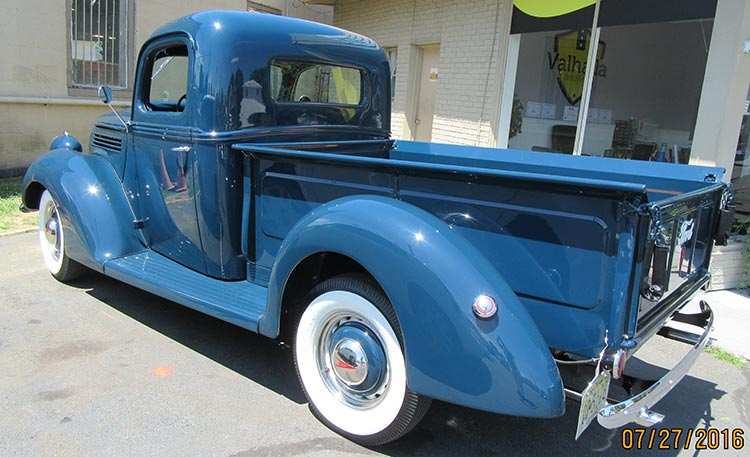 1939 Ford Pickup Restoration 8